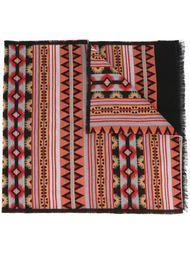 шарф с этническим орнаментом Valentino