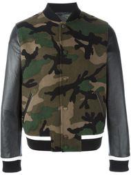 камуфляжная куртка бомбер 'Rockstud' Valentino