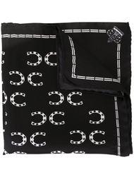 карманный платок с принтом подков Dolce & Gabbana