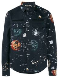 рубашка 'Galaxy' с нагрудными карманами Valentino
