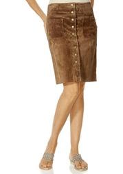 Кожаная юбка Rick Cardona