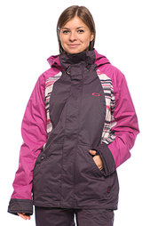 Куртка женская Oakley New Karing Jacket Lavender/Purple Stripe/Purple
