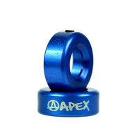 Заглушка на грипсы Apex Bar-Ends Blue