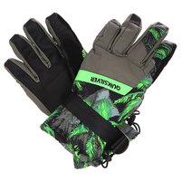 Перчатки сноубордические Quiksilver Mission Glove Palms Green