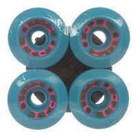 Колеса для скейтборда для лонгборда Z-Flex Zfx Wheels Blue 90A 60 mm