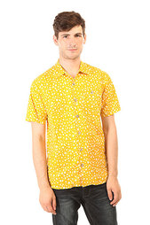 Рубашка Lightning Bolt Shark Skin Aloha Shirt Golden Rod