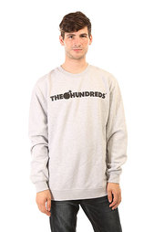 Толстовка классическая The Hundreds Forever Bar Crewneck Athletic Heather