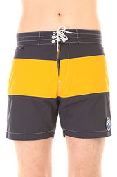 Шорты пляжные Penfield Mens New England 2tone Board Short Navy/Yellow