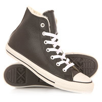 Кеды кроссовки утепленные Converse Chuck Taylor All Star Black
