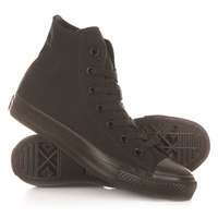 Кеды кроссовки высокие Converse Chuck Taylor All Star Core Black