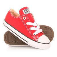 Кеды кроссовки низкие детские Converse Chuck Taylor All Star Red