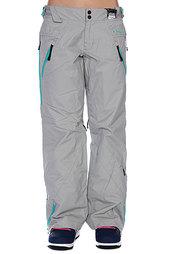 Штаны сноубордические женские Oakley Lines Pant 23C-Gray Wash