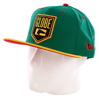Бейсболка New Era Globe Kenwood NewEra Cap Green