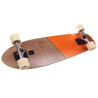 Скейт круизер Globe Big Blazer Brown/Orange 9.25 x 32 (81.3 см)