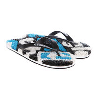 Шлепанцы детские Globe Merkin-Matrix Kids Black/Hawaii/White
