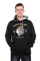 Толстовка кенгуру Footwork Winnetou Black