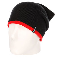 Шапка носок True Spin Neon 2 Tone Roll Up Black/Infrared