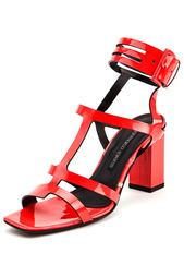Босоножки на каблуках Gianmarco Lorenzi