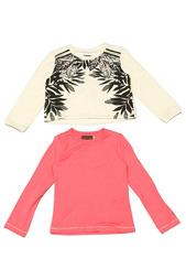 Пуловер с футболкой Catimini