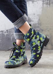 Ботинки (деним со звездочками) Bonprix