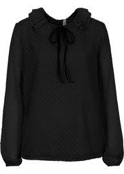 Блузка с бантом (нежно-персиковый) Bonprix