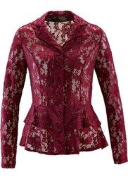 Кружевная блузка (цвет белой шерсти) Bonprix