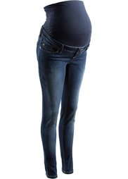 Мода для будущих мам: джинсы Skinny (синий «потертый») Bonprix
