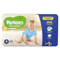 Подгузники Huggies Ultra Comfort для мальчиков Mega Pack (4) 8-14 кг, 66 шт.