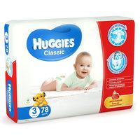 Подгузники Huggies Classic (3) Mega Pack 4-9 кг, 78 шт.