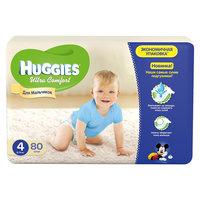 Подгузники Huggies Ultra Comfort для мальчиков Giga Pack (4) 8-14 кг, 80 шт.