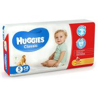 Подгузники Huggies Classic (5) Mega Pack 11-25 кг, 58 шт.