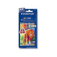 Цветные карандаши NorisClub, 10 цв. Staedtler