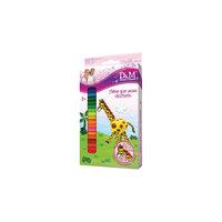 """Пластилин для детской лепки """"Жираф"""", 12 цветов"""
