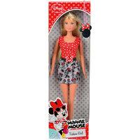 "Кукла Штеффи. Minnie Mouse"", Simba, красная в горошек"