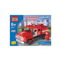 Конструктор ЗИЛ-130 Пожарная машина, 254 дет., Город мастеров