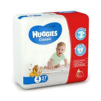 Подгузники Huggies Classic (4) Econom Pack 7-18 кг, 27 шт.