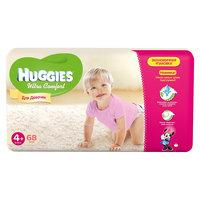 Подгузники Huggies Ultra Comfort для девочек Giga Pack (4+) 10-16 кг, 68 шт.