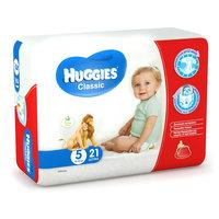 Подгузники Huggies Classic (5) Econom Pack 11-25 кг, 21 шт.