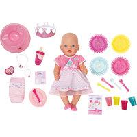 "Интерактивная кукла ""Праздничная"", 43 см, BABY born Zapf Creation"