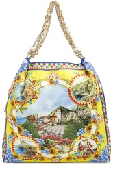 Сумка Anita с принтом на цепочках Dolce & Gabbana