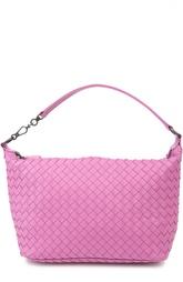 Кожаная сумка с плетением intrecciato Bottega Veneta