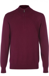 Кашемировый свитер с воротником на молнии Brioni