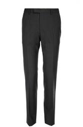 Шерстяные брюки в мелкую клетку HUGO BOSS Tailored