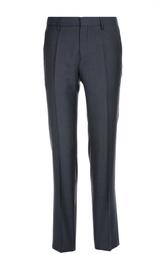 Классические шерстяные брюки в клетку HUGO BOSS Black Label