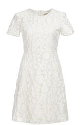 Кружевное мини-платье с завышенной талией Burberry