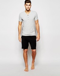 Домашние шорты узкого кроя Calvin Klein - Черный