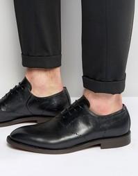 Кожаные туфли Hudson London Twain - Черный