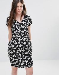 Платье-тюльпан Poppy Lux Tarsha - Черный