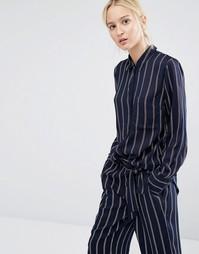 Пижамная рубашка в полоску Gestuz Sus - Мульти