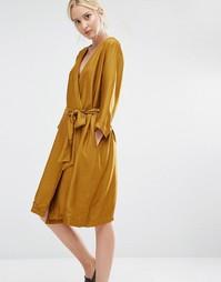 Платье с запахом Gestuz Janet - Зеленый